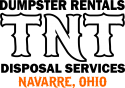 TNT Dumpster Rentals and Disposal Service Logo